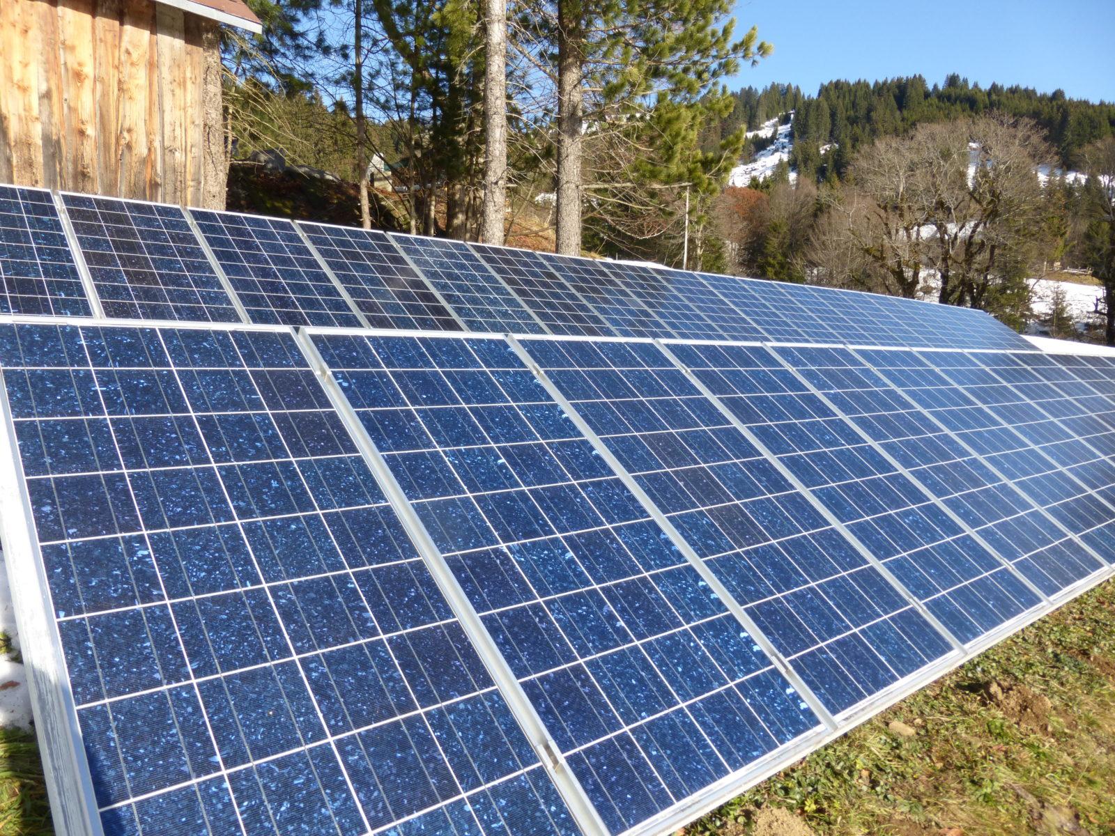 ökologisches Bauen mit erneuerbaren Energien
