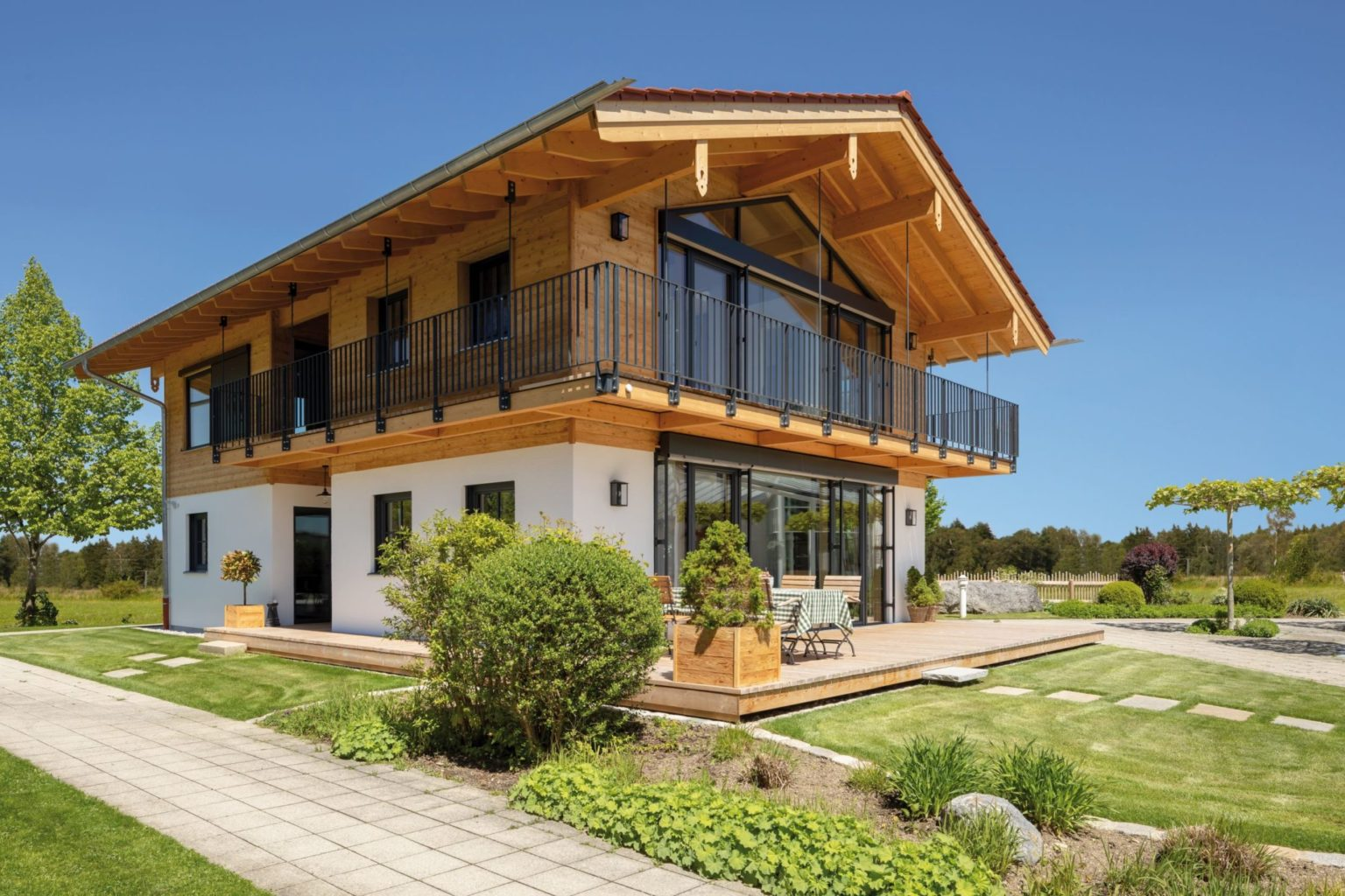 CO2-Senke Holzhaus