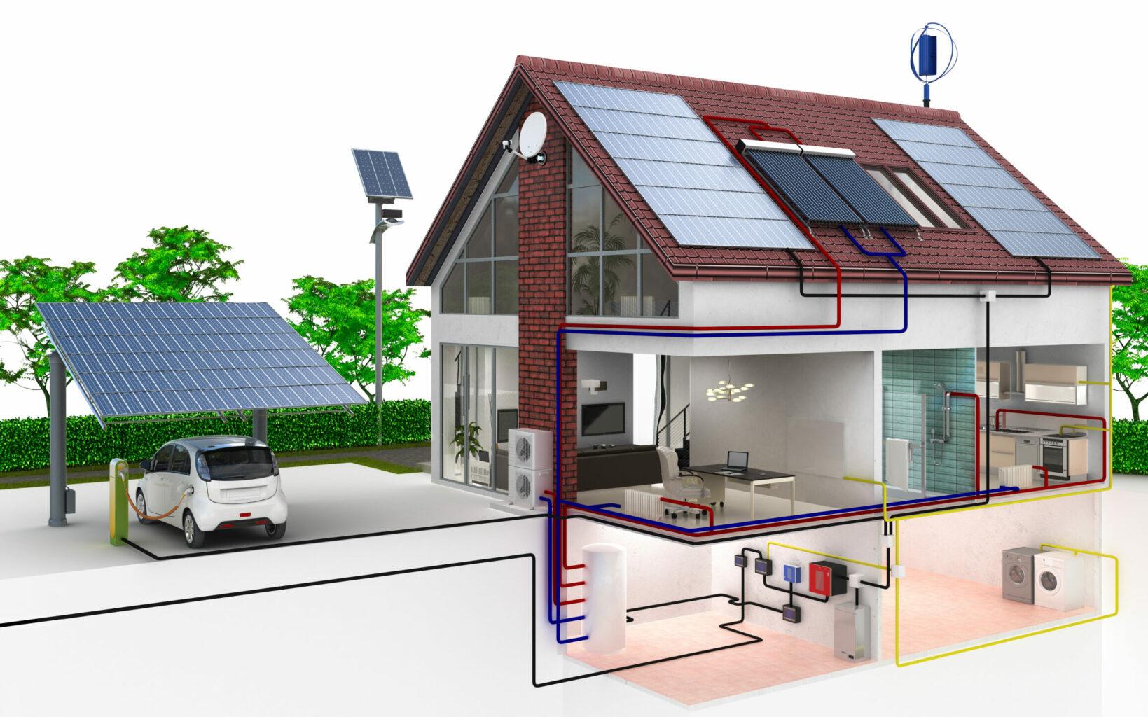 Einfamilinehaus Plusenergiehaus